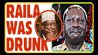 💥BREAKING NEWS 🔥 RAILA DRUNK and COULDN'T  SPEAK at the AIRPORT 🔥 MIGUNA REVEALS why RAILA ...