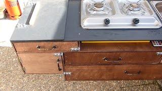 Eigenbau Küche am Campwerk Economy DIY // Vlog#15