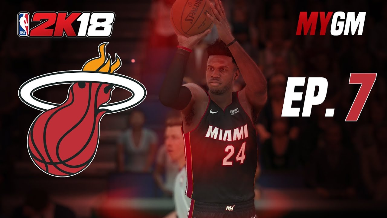 Heat Vs Bucks Image: NBA 2K18: Miami Heat MyGM Ep. 7
