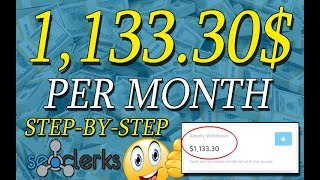 🌹How I Made 1,133.30$ A Month On SeoClerks 🌹 Work From Home Step by Step