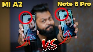 Redmi Note 6 Pro Vs Mi A2 Camera Comparison 📷 🎥 🤳 Brothers At War!!
