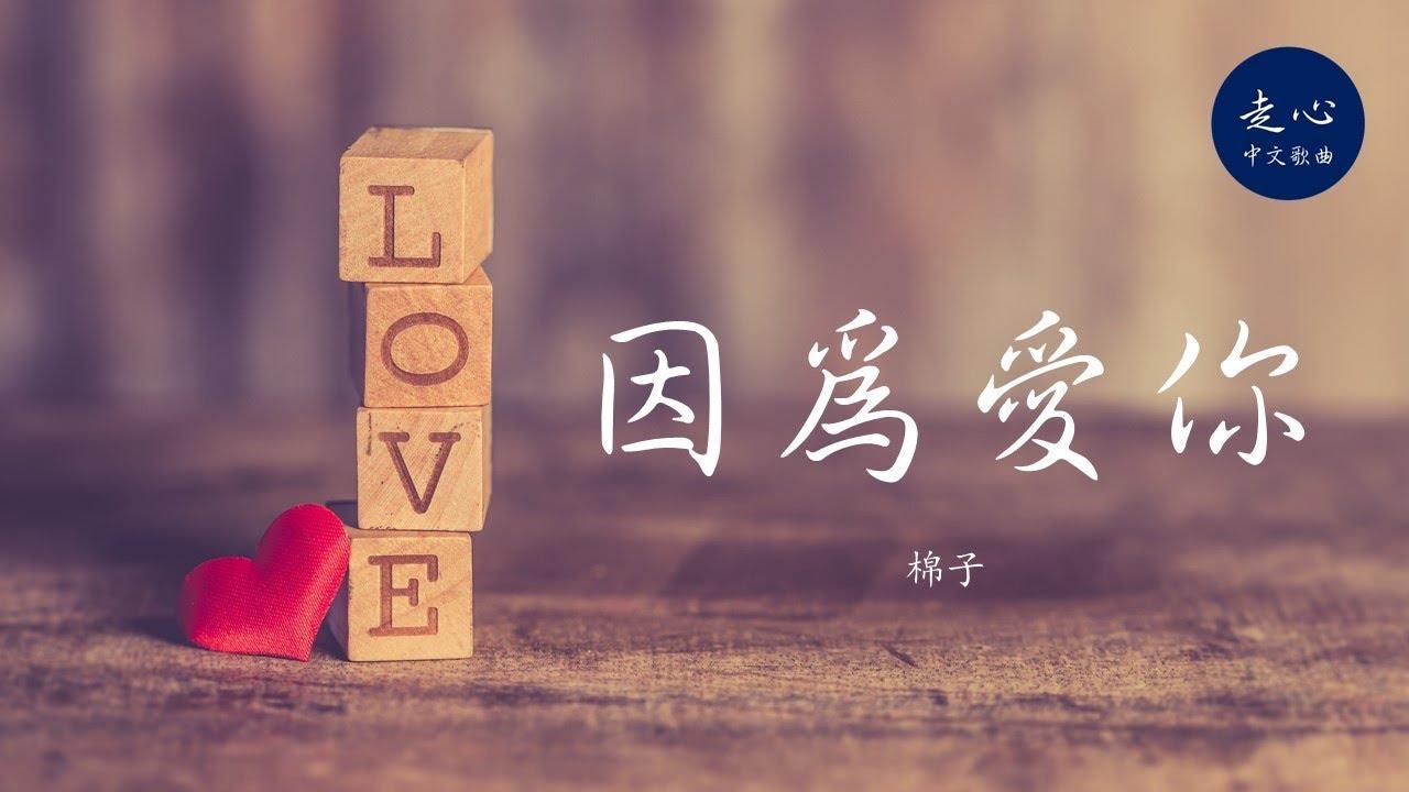 棉子 - 因為愛你 | 高音質動態歌詞
