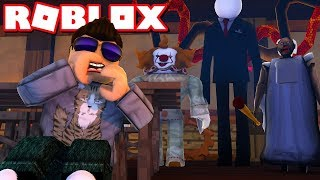 They are ALL after me! -ROBLOX Horror Stories Danish with ComKean