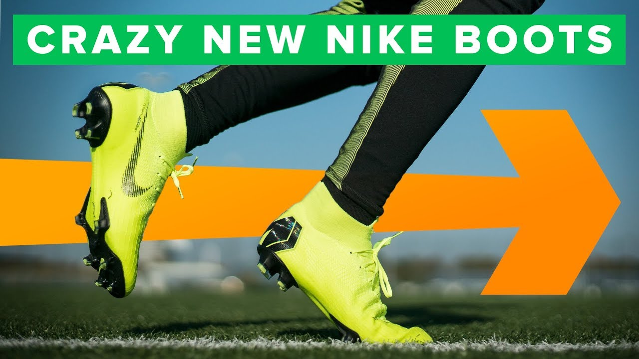 5d6bf1bbb AMAZING NEW NIKE FOOTBALL BOOTS | Nike Always Forward Play Test ...