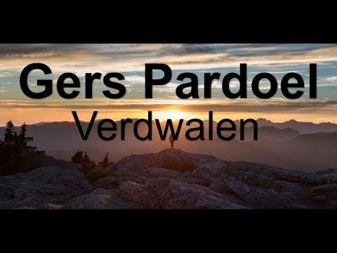 Gers Pardoel - Verdwalen ft. Equalz (lyrics-versie)