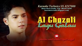 Video Al Ghazali - Lagu Galau | Karaoke Technics SX-KN7000 download MP3, 3GP, MP4, WEBM, AVI, FLV Desember 2017