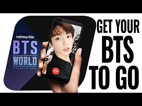 BTS Mobile game to be released - BTS World - Game News