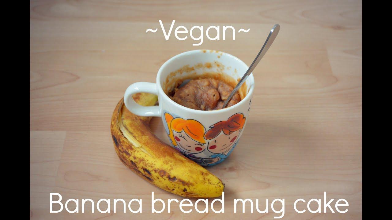 Flour Free Mug Cake Banana
