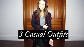 3 Casual Outfits: Helmut Lang Asymmetric Bra / ttsandra thumbnail
