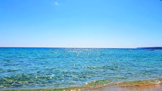 GOOD MORNING Beach Ambience Bright Sunny Day ☯ NATURE THERAPY 💦 Relaxing Ocean Waves Summer Ambience