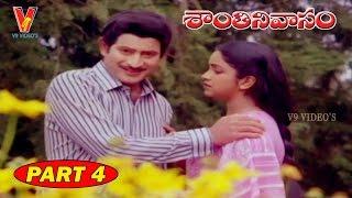 Shanthi Nivasam   Part 4/14   Krishna   Radhika   Suhasini   V9 Videos