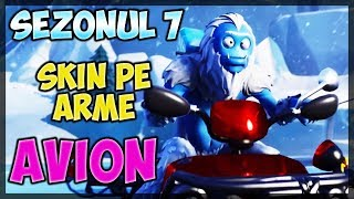 🔴 the new SEASON! Skin on arms/airplane-Fortnite Romania [Live #314]