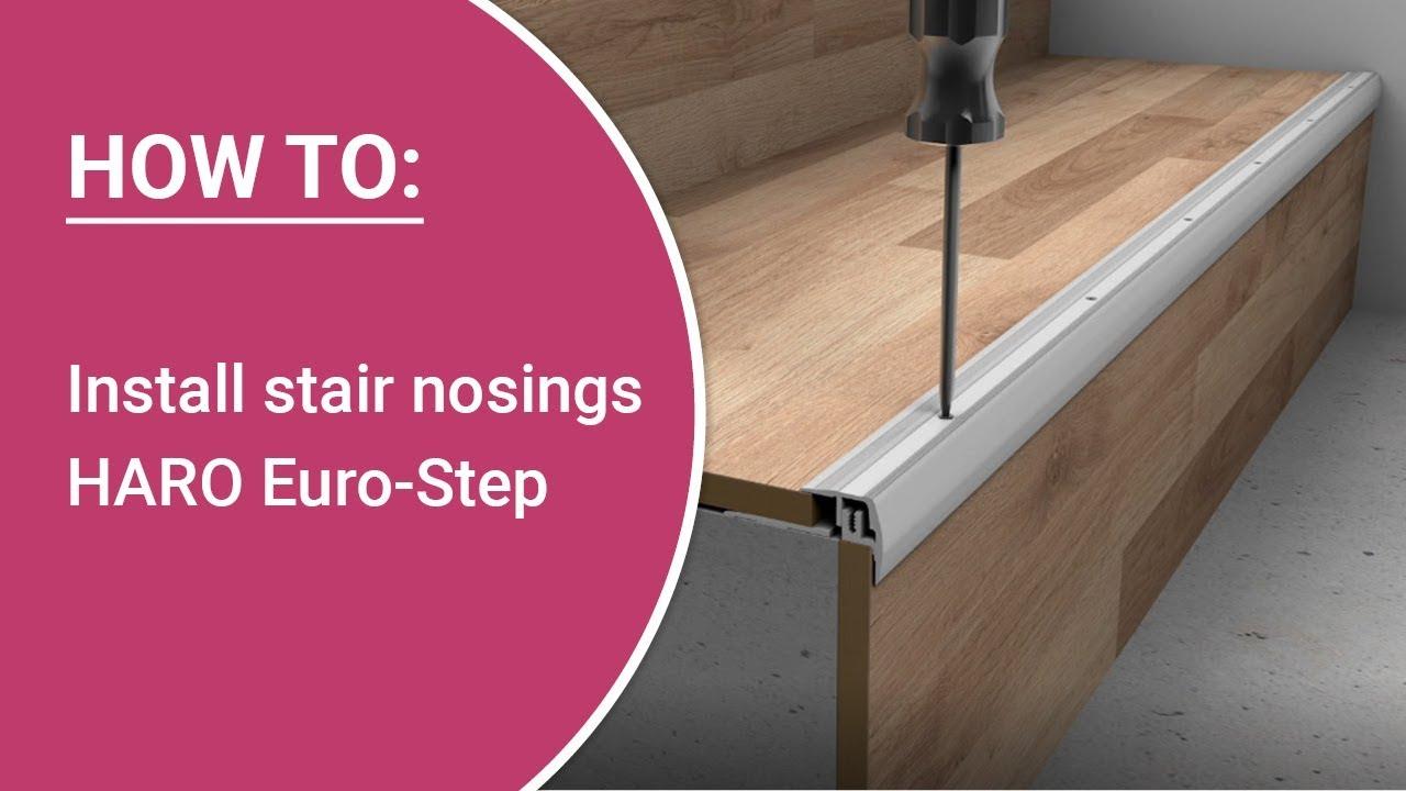 Haro Euro Step Stair Nosing