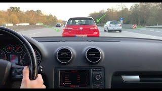 Autobahn Driving A5: Audi A3 2.0 TDI +220km/h
