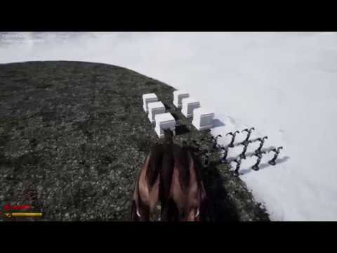 Dragon Game Project in UE4. Melee Attack and Destructable Actors