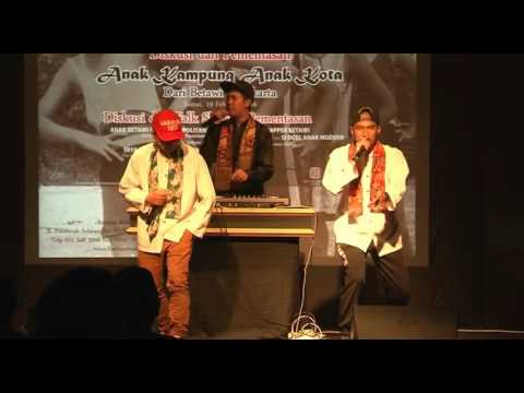 Kojek Rapper Betawi | Bentara Budaya Jakarta |19 Feb 2016
