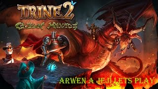 Trine 2: Goblin menace #8 Arwen a její Let´s Play