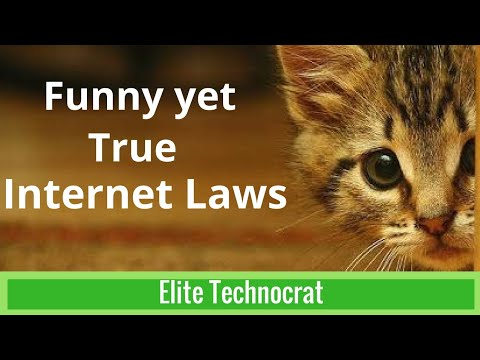 Laws of internet you must know