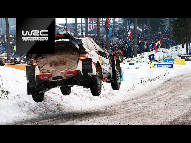 WRC - Rally Sweden 2019: Highlights Stages 12-16