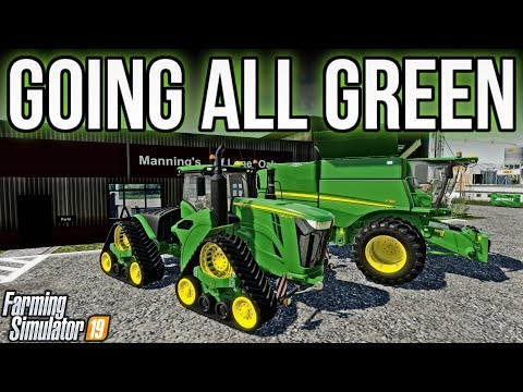 Fast Planting, Fast Harvesting, and A BIG JUMP w/SFTN! | Lone Oak Farm | Farming Simulator 19