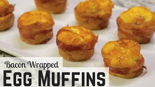How to Bake Eggs in Muffin Pan Using Bacon (Egg Cupcakes)