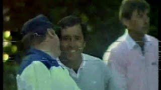 Seve Ballesteros. The Volvo P.G.A.  2nd Round .1988.Wenwtorth