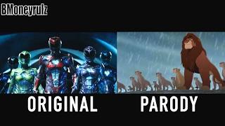 'Disney's POWER RANGERS': Side-By-Side w/ Original Trailer