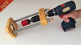 Awesome Homemade Drill Guide // El Yapımı Matkap Kılavuzu v2.0
