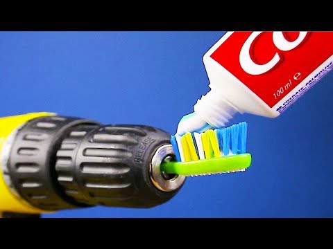 Download Youtube: 25 AWESOME DRILL LIFE HACKS