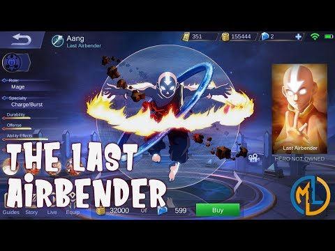 Mobile Legends : Ideas : Aang The Last Airbender