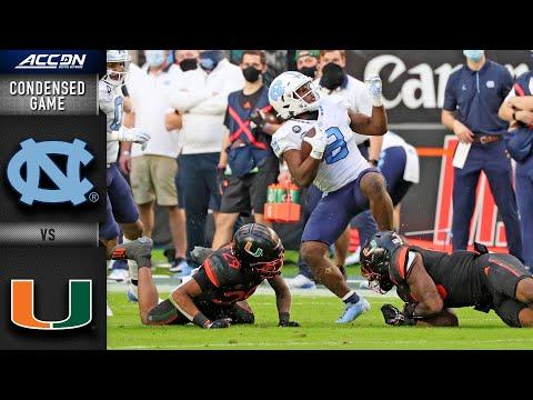 North Carolina vs. Miami Condensed Game | 2020 ACC Football