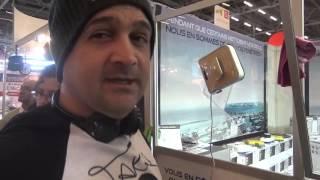 ▶️ Foire de Paris, Winbot Ecovacs le robot nettoyeur de vitre automatique !