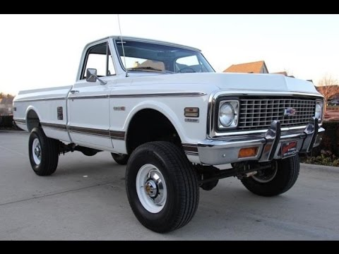 1972 chevrolet c20 pickup 4x4 for sale youtube. Black Bedroom Furniture Sets. Home Design Ideas