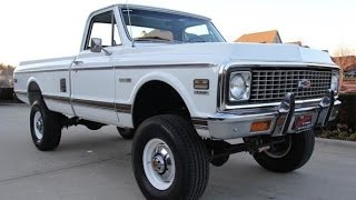 1972 Chevrolet C20 Pickup 4x4 For Sale