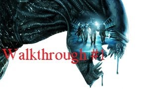 Aliens Colonial Marnies Gameplay Walkthrough Part 1 Ready Winter [HD]