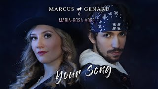 Rita Ora - Your Song [Cover by Marcus Genard & Maria Rosa Vogele]