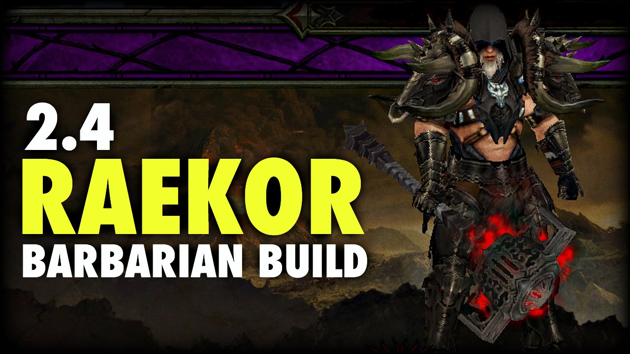 Season  Diablo  Barbarian Build