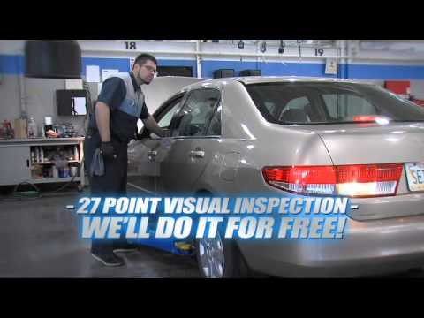 Free 27 Point Vehicle Inspection
