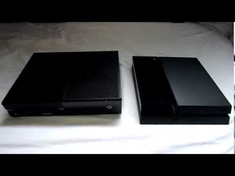 PS4 vs. Xbox One Console Size Comparison - GamingReality |Ps4 Vs Xbox One Size