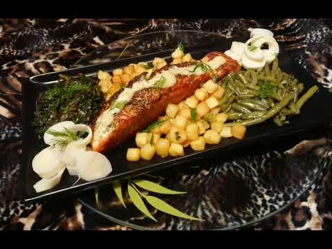 recette-de-pavé-de-saumon-à-la-plancha,-sauce-à-l'ail-et-sauce-soja,-un-pur-délice-facile-et-rapide