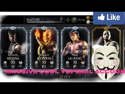 Mkx mobile:massive mkx hacked account