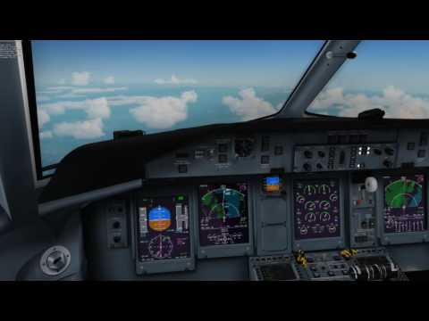 Airline2Stream 5 MJC Q400 Malaga - Ibiza - Valencia - No Commentary
