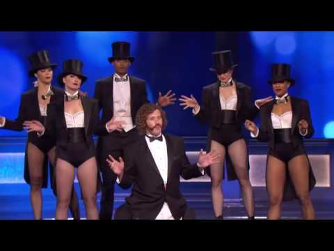 Janaya French performing 22nd annual Critics Choice Awards opening with TJ Miller