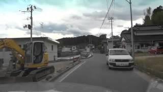 東日本大震災の被害を被った広田町、大野海岸、天皇前、六ケ浦付近の被...