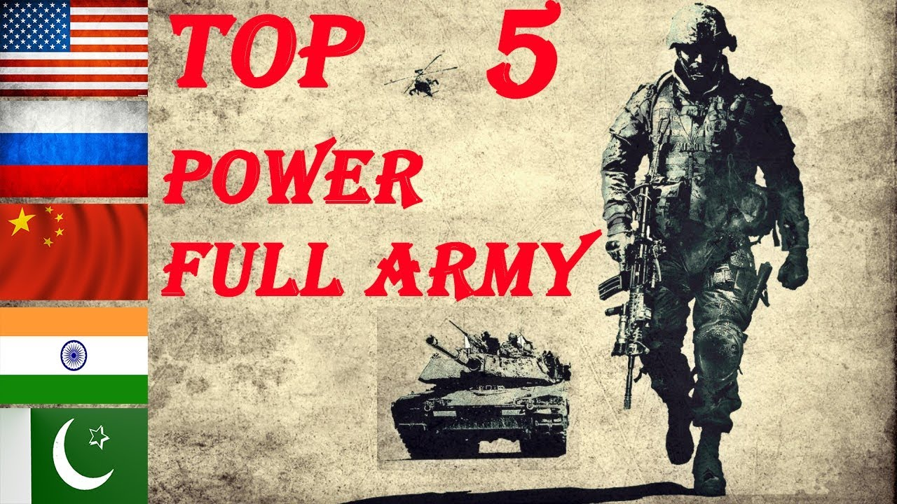 Top 5 Powerful army / Strength/ Power Comparison 2019