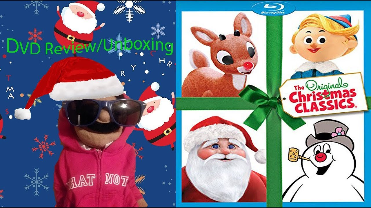 The Original Christmas Classics DVD Review/Unboxing (Puppet Review) image