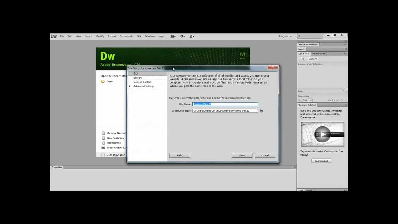 video aula dreamweaver cs6