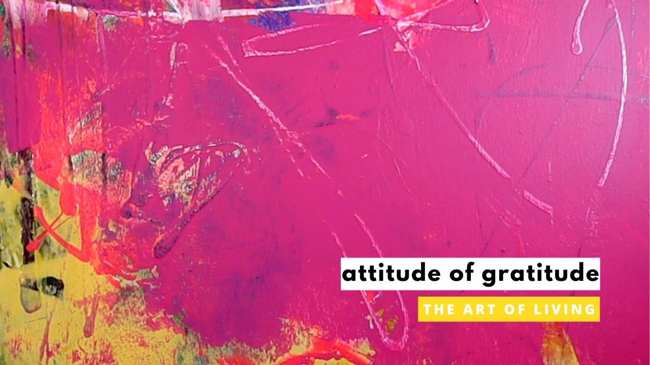 ATTITUDE OF GRATITUDE | Steve Gudrie