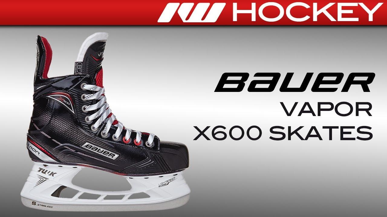 2017 Bauer Vapor X600 Skate Review - YouTube