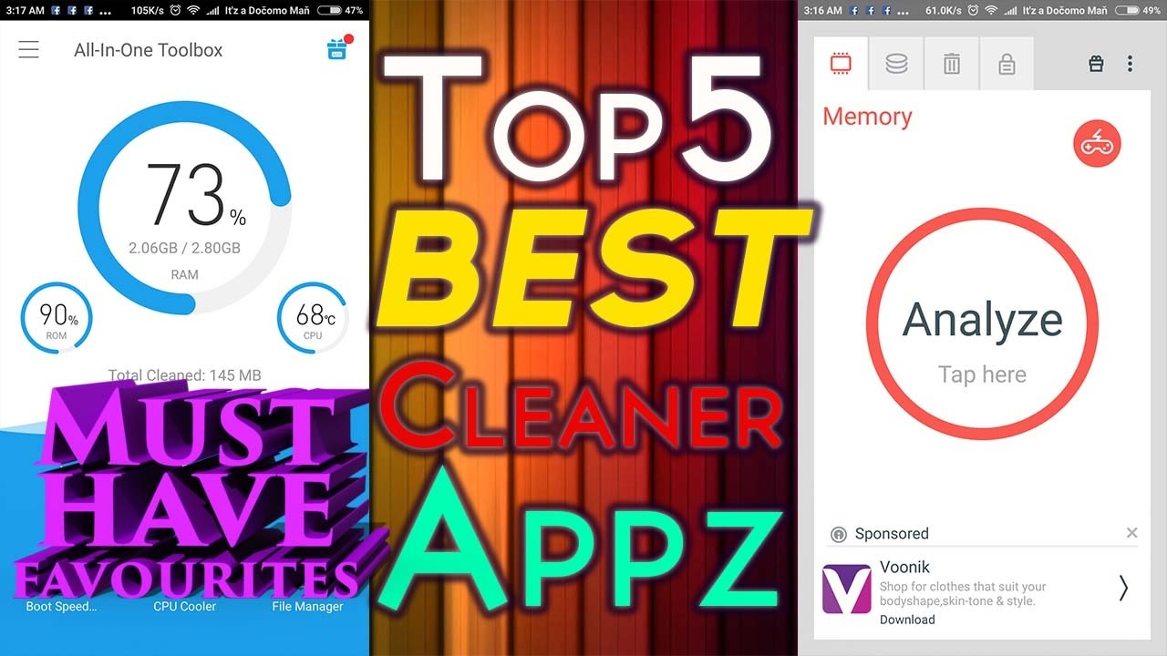 Best Android Cleaner 2019 Best Android Cleaner Apps 2019 Top 5 Must Have Favourites!!   YouTube